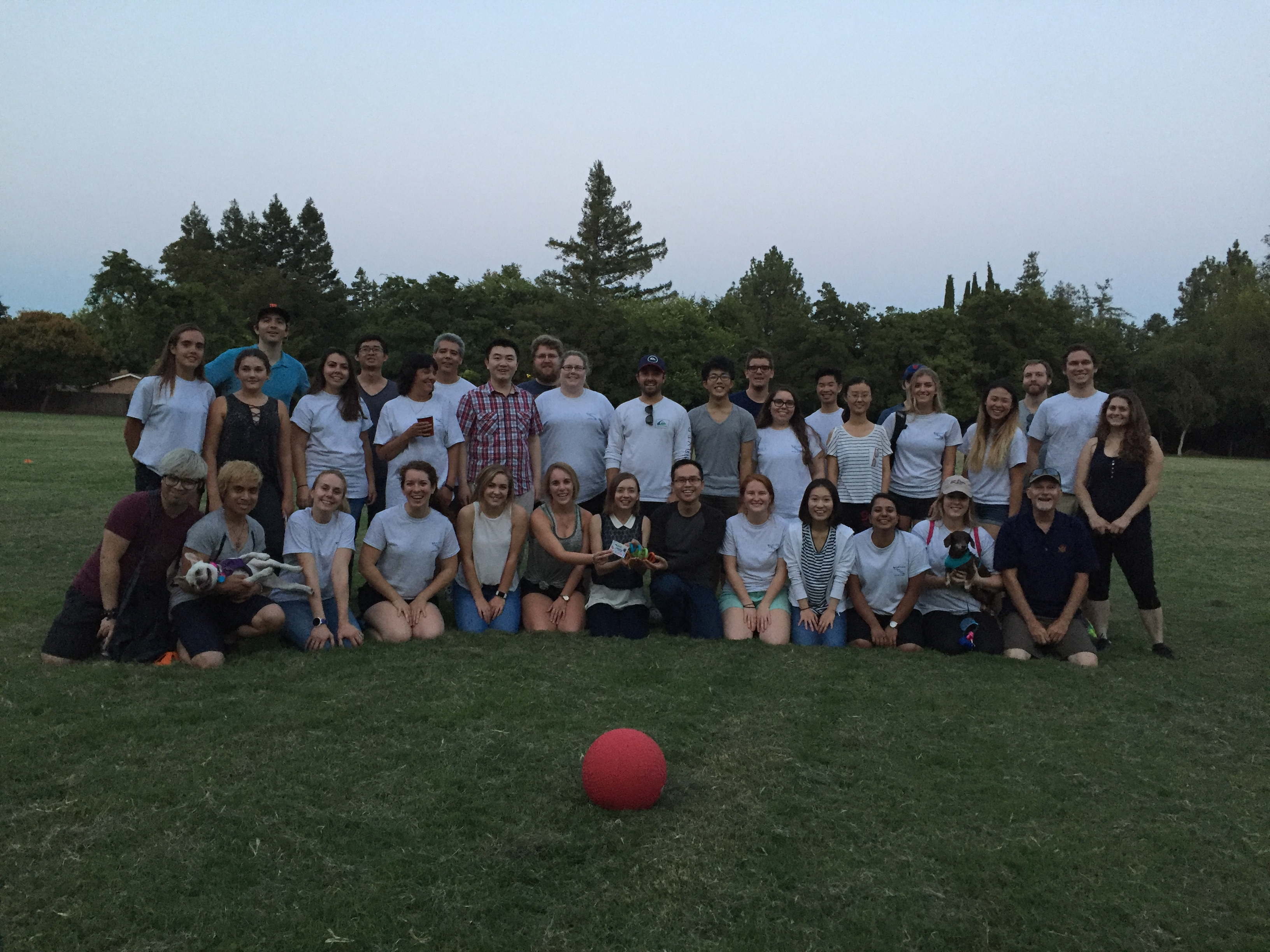 David-Beal Lab Kickball Game 2017