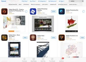 Adobe Mobile apps