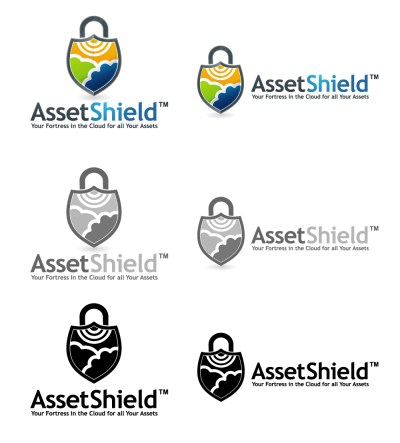 assetshield logo treatments