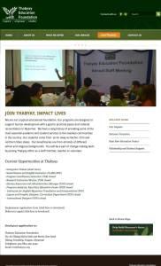 teacher recruitment page