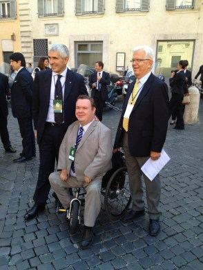Pier Fernando Casini, jag och Alf Svensson