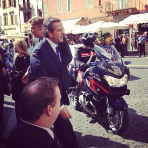 Jag och premiärminister Samaras