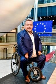 David LEGA in the European Parliament in Strasbourg. © European Union 2019 – EP/Jean-Christophe.