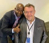 Det här är Olivier från Rwanda som arbetar på Europaparlamentets bilservice. Jag kommer att berätta mer om honom nästa vecka!