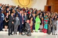 Gruppfoto med deltagarna på kongressen i Addis Abeba.