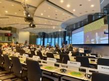 Inför att det i veckan är den europeiska dagen för personer med funktionsnedsättningar deltog jag i ett samtal på kommissionen över hur idrott kan hjälpa till med inkludering.