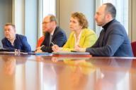 Detta är styrelsen för Europaparlamentets arbetsgrupp mot antisemitism som jag har äran att sitta i.