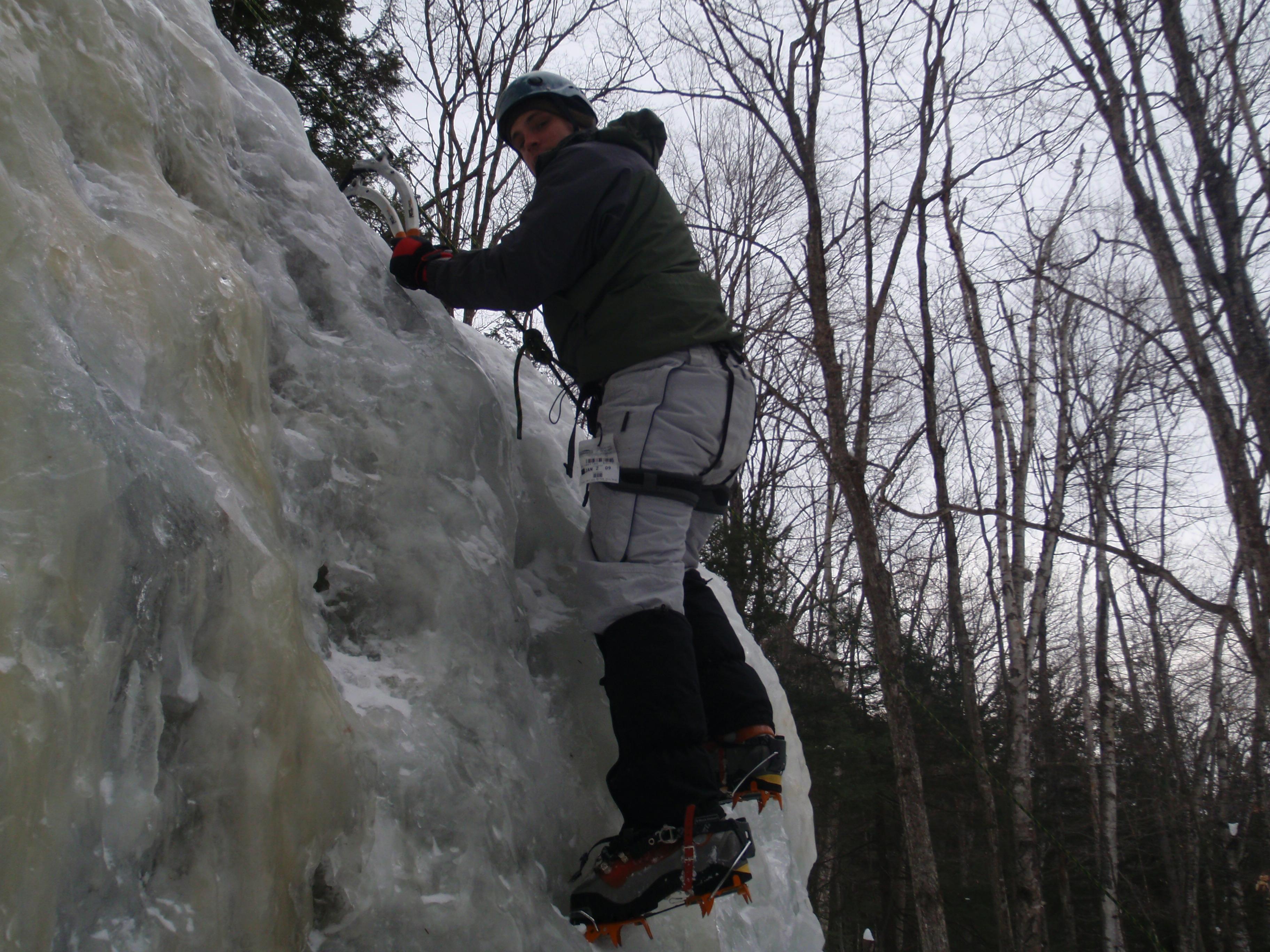 Randy on the steeps...
