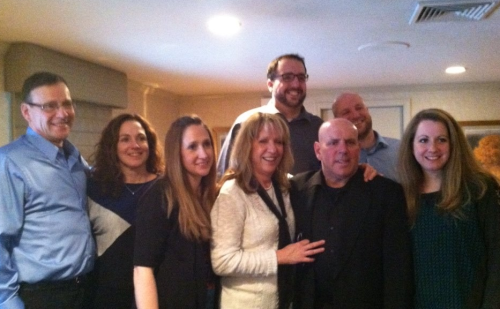 Group shot with my family, up, tall one in back.