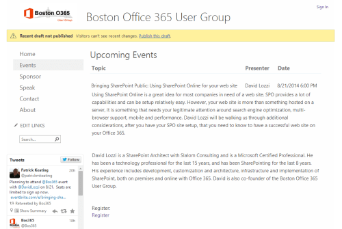 List view in Office 365 SharePoint