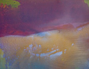 Abstract painting/David Lucas