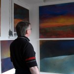 David Lucas artist's Studio