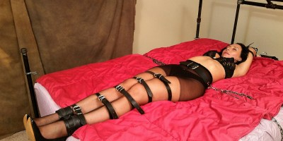 Omar Pantyhose bound teased