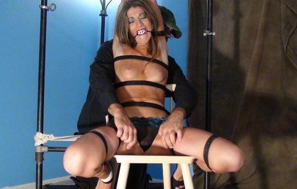 Chair Bound MILF Tickle Tease