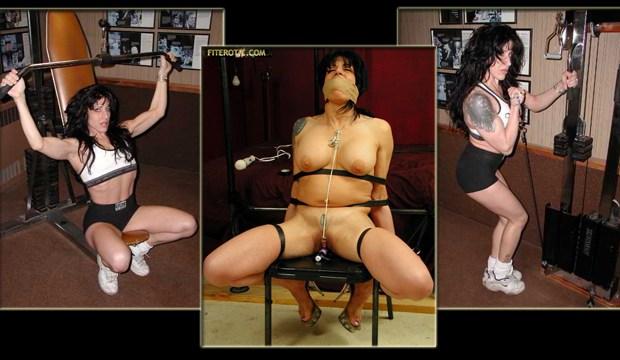 Weightlifter Chair Bondage