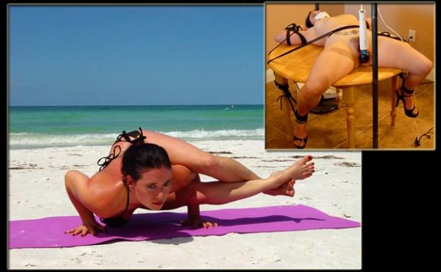 Yoga Girl Loves Bondage