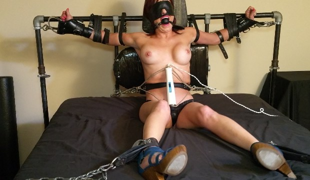 Blindfolded Bondage Orgasms