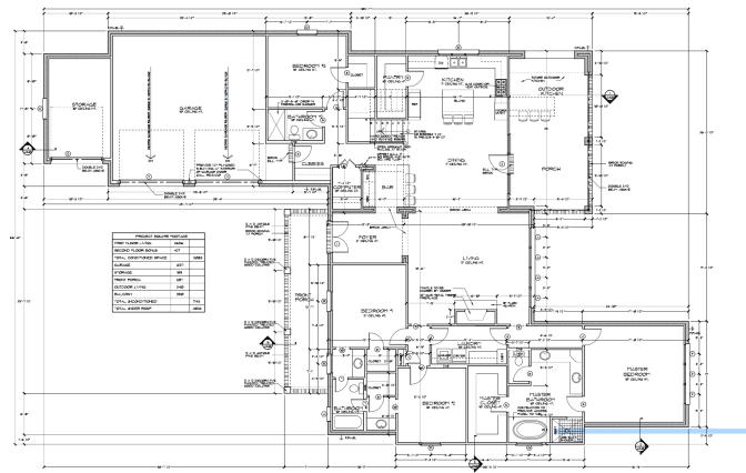 Floor Plan w: Dimensions