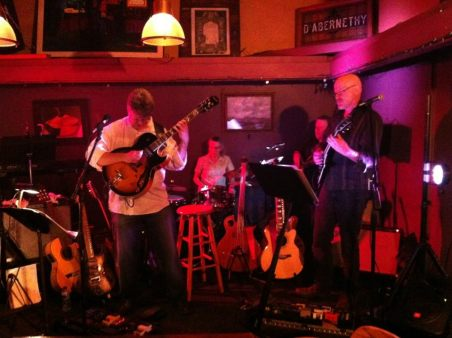 Jon Hughes, Ward Grifiths and Mike Doolin at O'Connor's Portland, OR