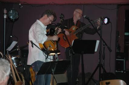 Jon Hughes, Ward Grifiths and Mike Doolin at O'Connor's Portland, OR