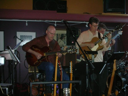 Jon Hughes, Ward Griffiths, Chris Baum and Mike Doolin at O'Connor's Portland, OR