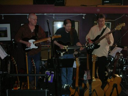 Jon Hughes, Ward Griffiths, Jeff Knudson and Mike Doolin at O'Connor's Portland, OR
