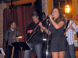 With Matt Hanzelka, Esti Price, Tom Peterson and Havana Hi-Fi at Aster Cafe, Minneapolis, MN