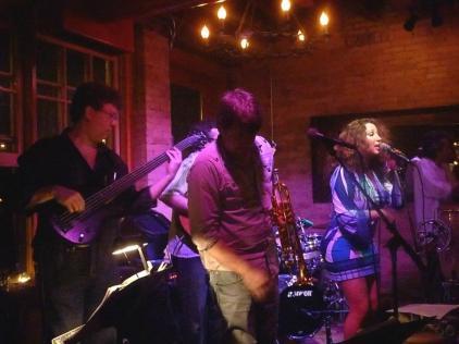 With Esti Price, Zack Lozier and Havana Hi-Fi at Aster Cafe, Minneapolis, MN