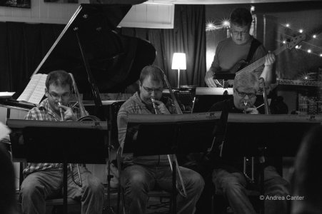 With Twin Cities Latin Jazz Orcherstra-Jazz Central 3-25-14