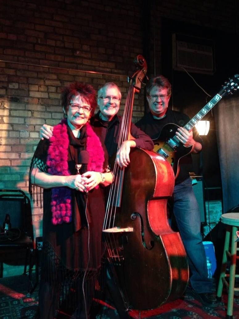 Vicky, Jim Chenoweth and David at the Nicollet in Minneapolis