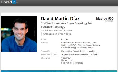 LinkedIn David Martín Díaz