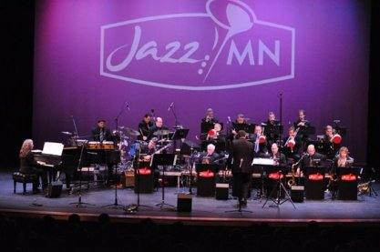 With JazzMN Big Band Michael Phillip Mossman
