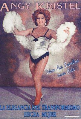 """Angy Kristel. en el cartel de """"Las Estrellas Traen Cola"""""""