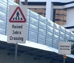 Raised Zebra Crossing editing