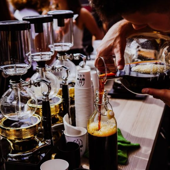 Hot to make cold brew coffee