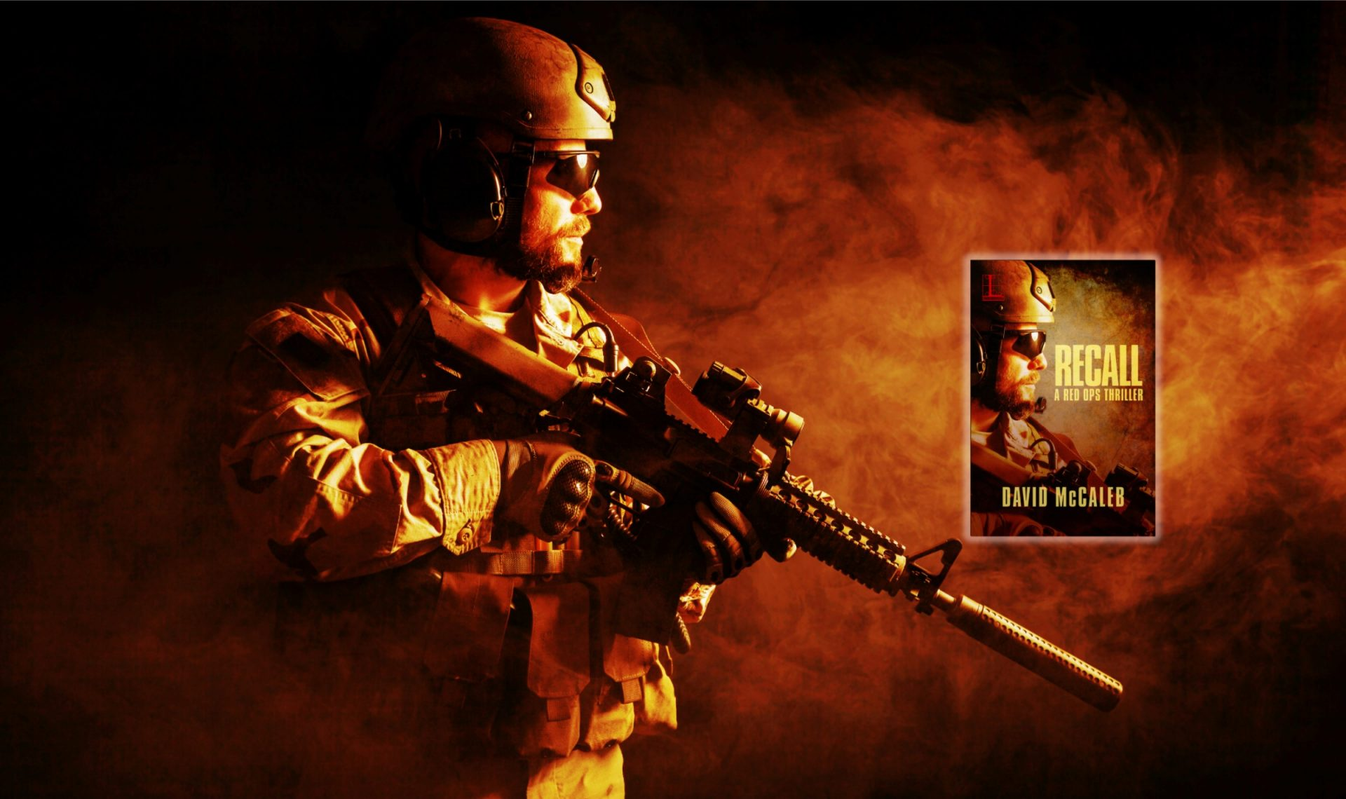 Special ops soldier, header RECALL slider image