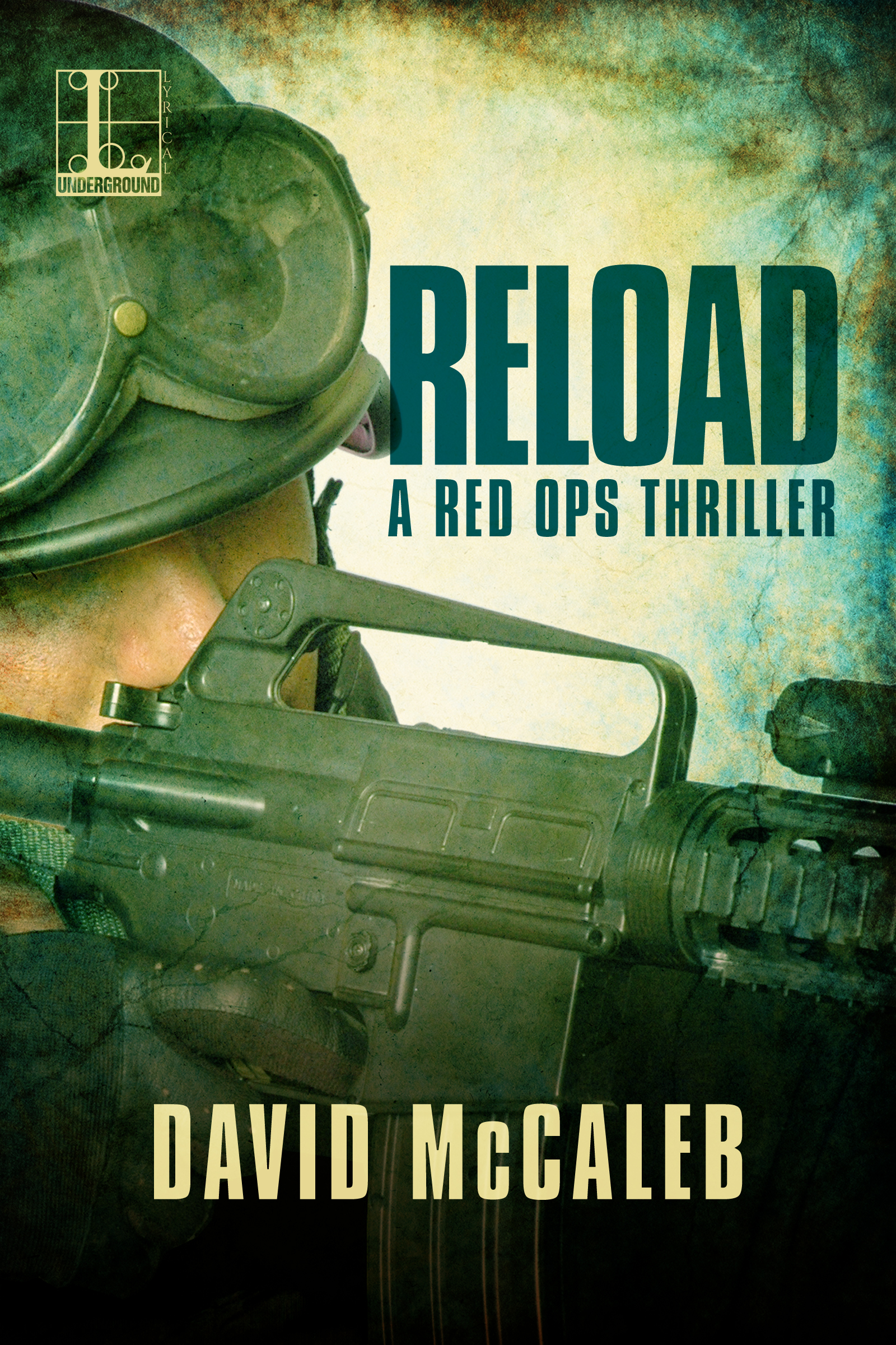 Cover of novel RELOAD by David McCaleb
