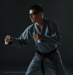 Karate portrait by David McCammon