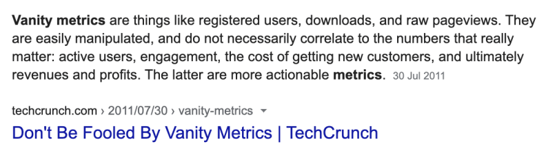 One of the. biggest marketing mistakes you can make in 2020 (or any other year) is to rely on vanity metrics.