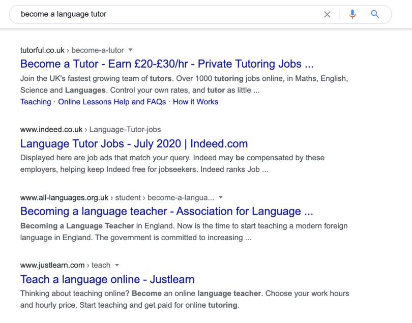 You can make money from home with different tutoring platforms