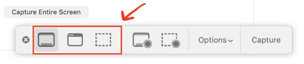 Take a screenshot on Mac with the screenshot app