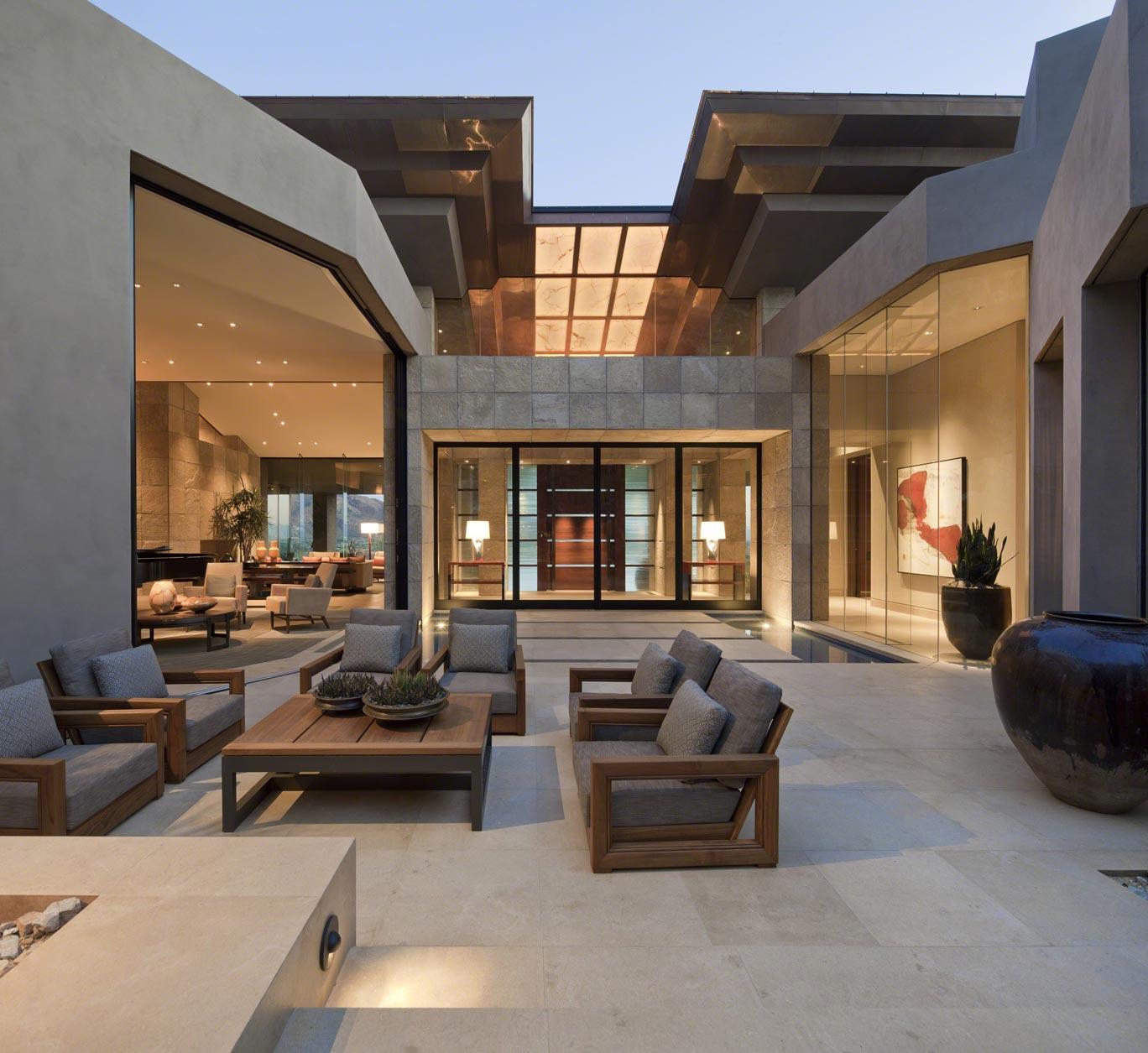 Contemporary Outdoor Living Design in Phoenix ǀ David ... on Designer Outdoor Living  id=50553