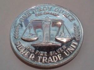 1 OZ .999 Fine Silver Trade Unit – Great NW Edition Eruption - Dorsal