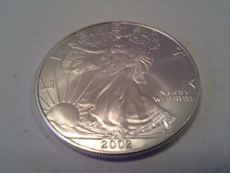 2002 Silver American Eagle – Uncirculated