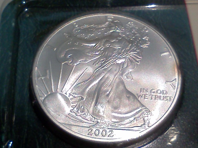 2002 Silver American Eagle Uncirculated The Mint