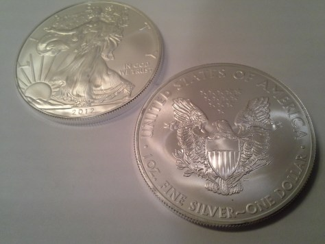 2012 Silver American Eagle - Uncirculated