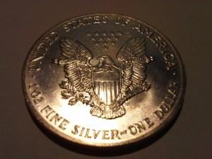 1989 Silver American Eagle 1 OZ .999 Fine Silver Dollar
