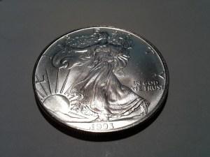 1993 1 oz Silver American Eagle
