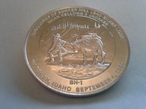 1981 BH-1 Bunker Hill Company Medallion Series .9995 Fine Silver 1OZ Round - Rare