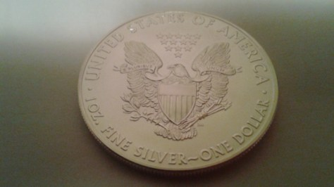 2014 Silver American Eagle 1 OZ .999 Fine Silver Dollar – Uncirculated